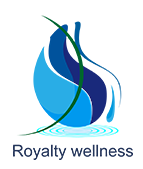 Een royalty spa jacuzzi - logo